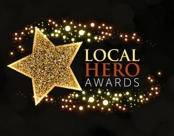 Sponsoring the Local Hero Awards
