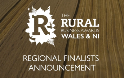 Shortlisted for the Rural Business Awards (Wales & NI)