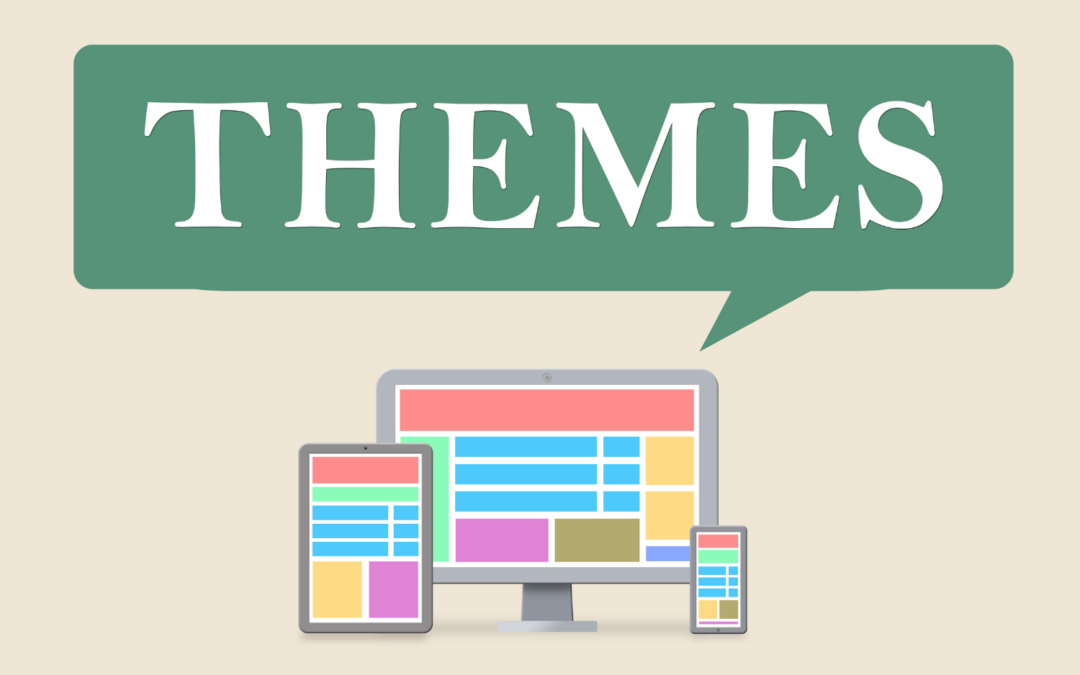 What is a website 'theme'?