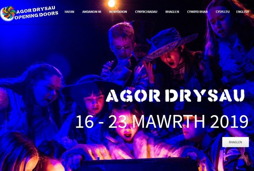 New Website Launch for Agor Drysau 2019