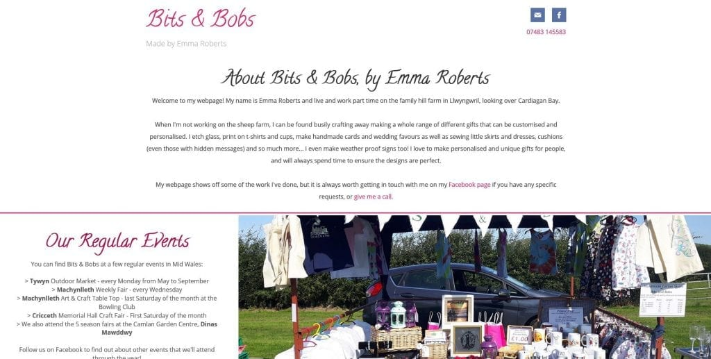 Bits and Bobs by Emma Roberts