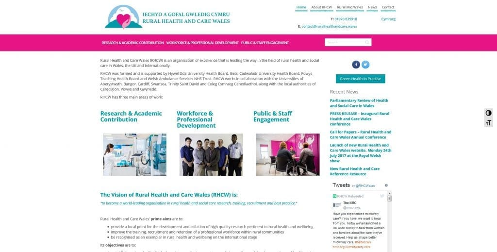 Rural Health and Care Wales